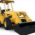 "Loader/Backhoe - Mini 2WD 56"" Wide - 8.5' Dig Depth - 11' Reach"